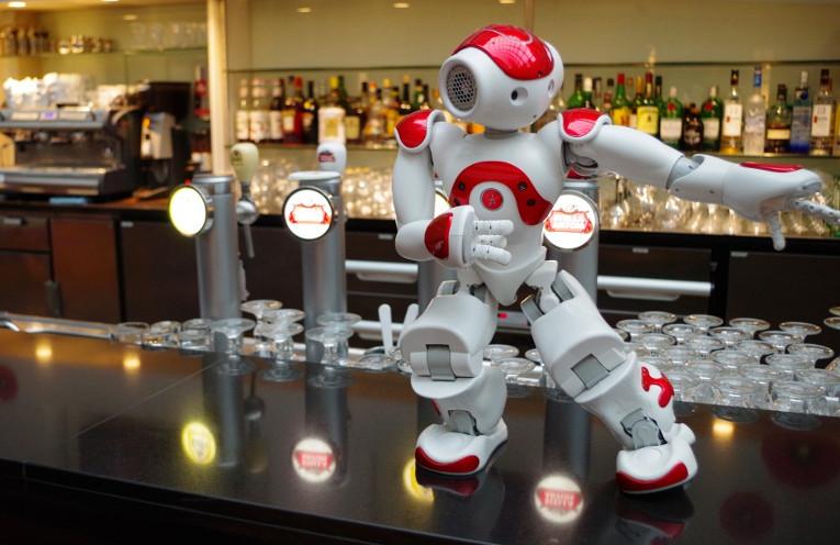 Hotelroboter Mario von Aldebaran Robtics