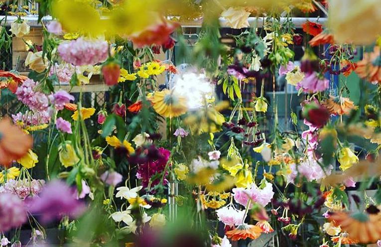 Blumenshow © BIKINI BERLIN