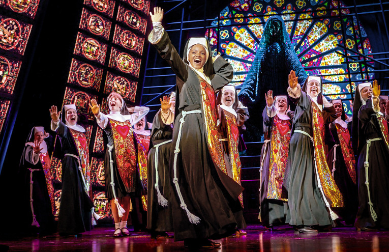 SISTER ACT © Pressebild Stage Entertainment, Theater des Westens