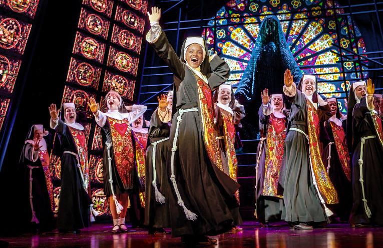 SISTER ACT © Pressebild Stage Entertainment, Theater des Westens