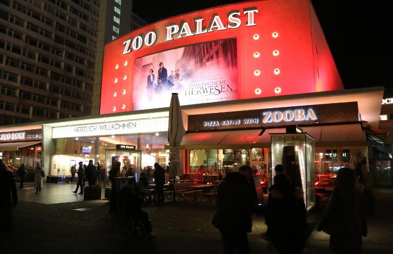 Abendstimmung am Zoopalast © sceene.berlin