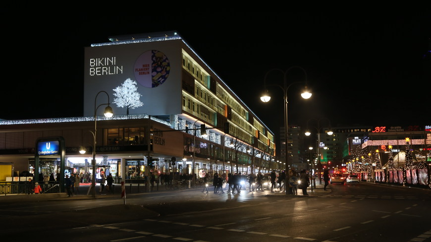 Weihnachtsstimmung am BIKINI BERLIN - Foto: © sceene.berlin