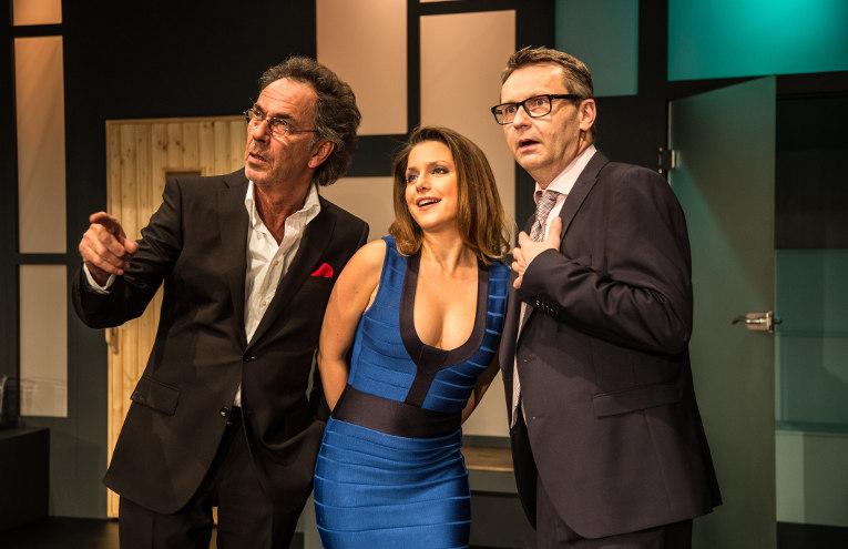 Aufguss: Hugo Egon Balder, Jeanette Biedermann, René Heinersdorff
