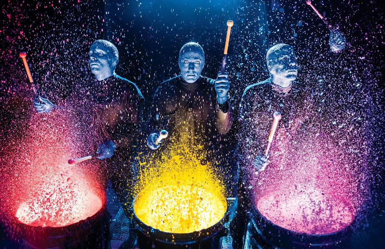 Blue Man Group: Paint Drum